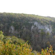 Les roches dans la vallée du Suzon